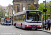First Volvo B10BLE 60657 (T839MAK) on Pinstone Street on 11th August