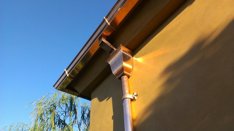 "I now have decorative cast brackets for 5"" ogee style gutters in aluminum and brass."