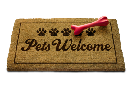 Pets Welcome Doormat