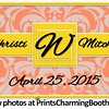 4-25-15 Christi and Mitchell Wedding logo