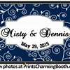 5-29-15 Misty & Dennis Wedding logo