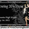 5-1-15 Palmetto High School Roaring 20's Prom logo