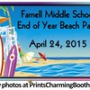 4-24-15 Farnell Middle School Beach Party logo