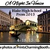 4-18-15 Blake High School Prom 2015 logo