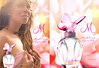 MARIAH CAREY M Luscious Pink 2008 US (Macy's stores) recto-verso with scented strip