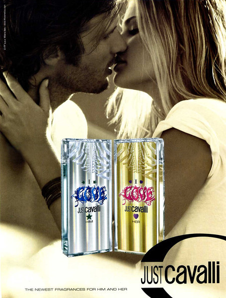 Just CAVALLI I Love 2010 Italy 'The newest fragrances for him and her' MODELS: Nico Malleville (Argentina) & Tori Praever (Hawaii)