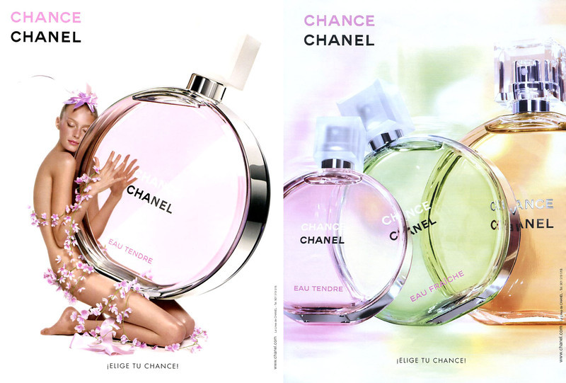 CHANEL Chance Eau Tendre - Chance Diverse 2013 Spain 2 consecutive pages (handbag size format) '¡Elige tu Chance!'jpg