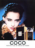 CHANEL Coco 1985 France 'Parfum et Eau de Parfum de Chanel'<br /> MODEL: Inès de la Fressange, PHOTO: Paolo Roversi
