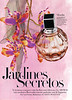JIMMY CHOO Parfums 2011 Spain (advertorial Harper's Bazaar) Illustrator: Alicia Malesani