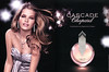 CHOPARD Cascade 2010 Germany spead 'Introducing the new fragrance from Chopard'<br /> MODEL: Michaela Hlavackova, PHOTO: Patrick Demarchelier