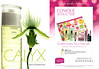 CLINIQUE Calix 2014 UK (Debenhams) 'Clinique Bonus Time - New Calyx - Sweet treats Your free gift - Rediscover the exhiliarating fragrance'