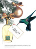 Vanilla Fields by COTY 1995 Сanada 'A little bird told me    - Vanilla fields is the perfect fragrance  The perfect gift'