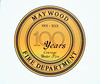 MAYWOOD FD  DOOR LOGO