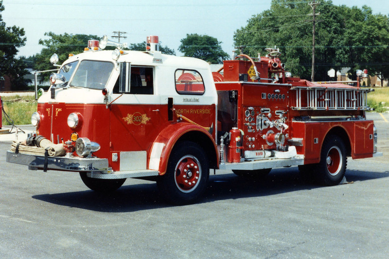 NORTH RIVERSIDE  ENGINE 302  1957 ALFCO 700  1000-300