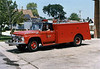 MORTON GROVE FIRE DEPARTMENT SQUAD 4  1965 FORD  MARION