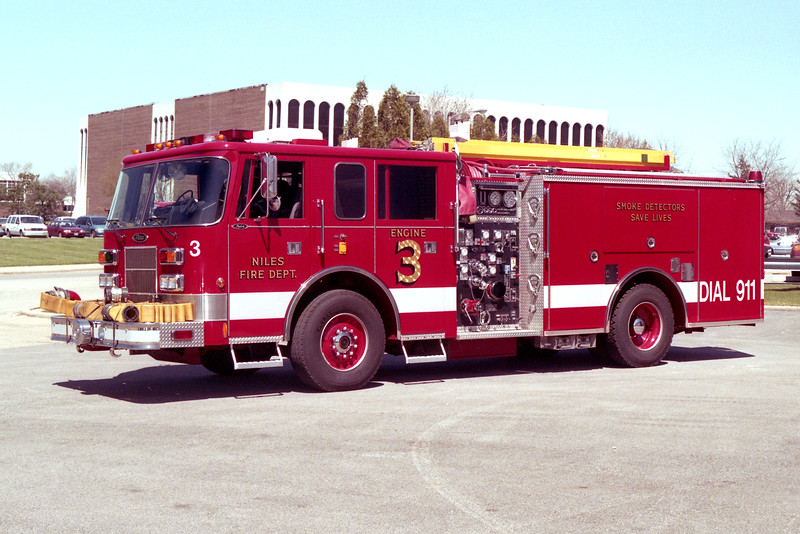 NILES  ENGINE 3  PIERCE SABER