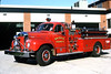 SKOKIE ENGINE 5  1960 MACK B  1000-300   RON HEAL PHOTO