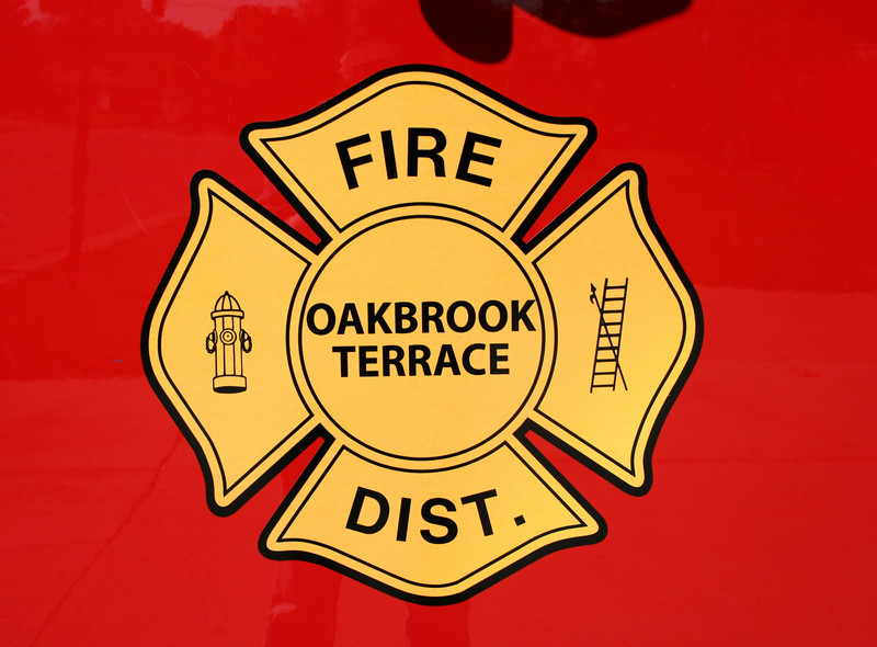 OAKBROOK TERRACE DOOR LOGO