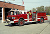 ENGINE 158  FORD C-8000 - FMC