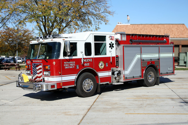 WINFIELD ENGINE 611 PIERCE SABER