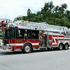 GLENWOOD LADDER 444  PARADE SHOT