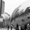 MILLENIUM PARK AND BEAN B&W