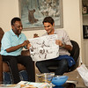 Pele and Federer historic meeting at Pele's home in São Paulo