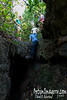 """Down into """"Dry Grotto."""""""