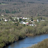 Hamlet of Great Cacapon viewed from Panorama Overlook