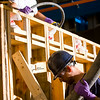Civil Engineering students are pouring concrete at  Ketter Hall<br /> <br /> Douglas Levere