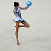 July 24, 2014 - Laura Halford of Wales doing her Ball routine during the Individual Qualification - Rhythmic Gymnastics at the 20th Commonwealth Games in Glasgow, Scotland. <br /> <br /> If you have any questions don't hesitate to reach out to us!<br /> <br /> Thanks!<br /> <br /> Photos by Al Milligan, Al Milligan Images, 2014
