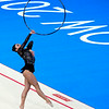 July 24, 2014 - Mimi Isabella Cesar doing her Hoop routine during the Individual Qualification - Rhythmic Gymnastics at the 20th Commonwealth Games in Glasgow, Scotland. <br /> <br /> If you have any questions don't hesitate to reach out to us!<br /> <br /> Thanks!<br /> <br /> Photos by Al Milligan, Al Milligan Images, 2014