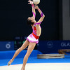 July 24, 2014 - Kah Mun Tong of Singapore doing her ball routine during the Individual Qualification of the Rhythmic Gymnastics competition at the 20th Commonwealth Games in Glasgow, Scotland. <br /> <br /> If you have any questions don't hesitate to reach out to us!<br /> <br /> Thanks!<br /> <br /> Photos by Al Milligan, Al Milligan Images, 2014