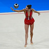 July 24, 2014 - Francesca Jones of Wales doing her Ball routine during the Individual Qualification - Rhythmic Gymnastics at the 20th Commonwealth Games in Glasgow, Scotland. <br /> <br /> If you have any questions don't hesitate to reach out to us!<br /> <br /> Thanks!<br /> <br /> Photos by Al Milligan, Al Milligan Images, 2014