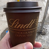 My first ever hot chocolate from Lindt