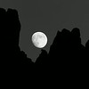 Pinnacles Moonrise