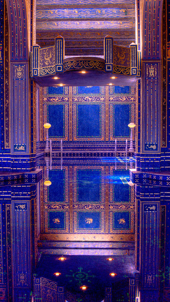 Roman Pool, Hearst Castle, San Simeon