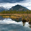 Vermilion Lakes, Mount Rundle, Sulfer Mountain