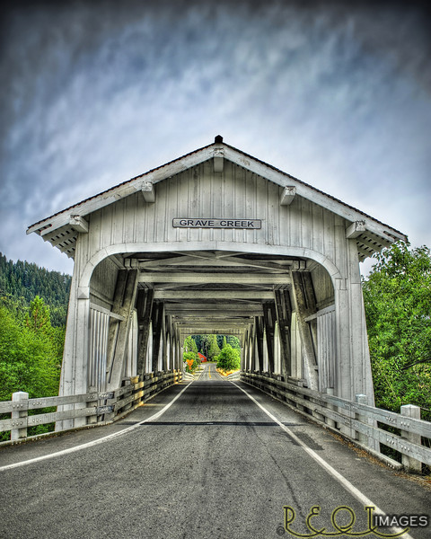 Grave Creek Covered Bridge - Southern Oregon Grave Creek final master 4