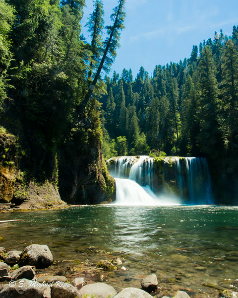 Upper Falls - Lewis River - Washington