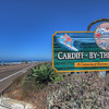 Cardiff By The Sea, California southern boundary sign