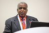 "Dallas, TX - AHA 2013 Scientific Sessions - Keith Ferdinand speaks ""Speakers: Gary Mitchell, Daniel Duprez, John Kostis, Ronald Victor, Keith Ferdinand"": Joint AHA/American Society of Hypertension Session:  here today, Wednesday November 20, 2013 during the American Heart Associations Scientific Sessions being held here at the Dallas Convention Center. Scientific Sessions is the leading cardiovascular meeting for basic, translational, clinical and population science, in the United States, with more 18,000 cardiovascular experts from more than 105 countries attending the meeting. Photo by © AHA/Scott Morgan 2013 Technical Questions: todd@medmeetingimages.com"