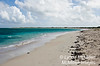 Deserted white sand beaches of Anegada Island.
