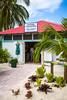 A souvenir kiosk on Princess Cays, Bahamas.