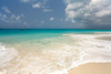 Barbuda beach, Caribbean