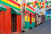 Colorful buildings in St. George's, Grenada, West Indies.