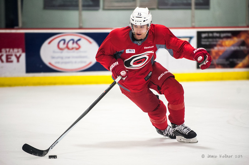 Tuomo Ruutu. December 17, 2013.  Carolina Hurricanes practice at Raleigh Center Ice, Raleigh, NC.  Copyright © 2013 Jamie Kellner. All rights reserved.