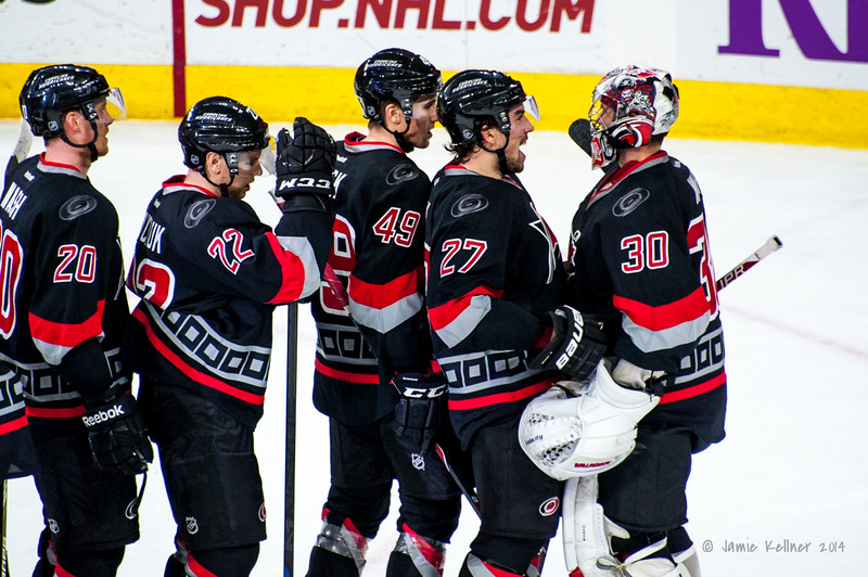 December 18, 2014. Carolina Hurricanes vs. Toronto Maple Leafs, PNC Arena, Raleigh, NC. Copyrigh © 2014 Jamie Kellner. All rights reserved.
