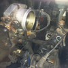 ASC throttle body and intake boot removed.