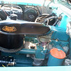 Chevrolet 1957 Bel Air engine side lf
